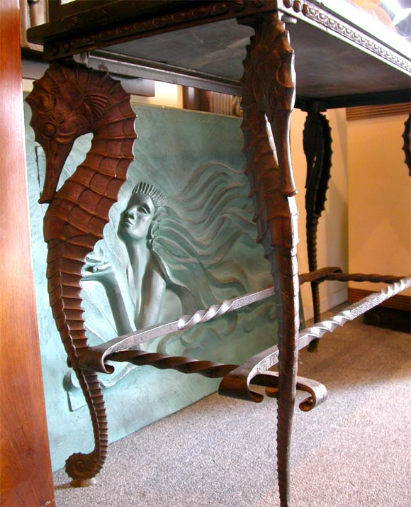 Large Wrought Iron Wall Decor