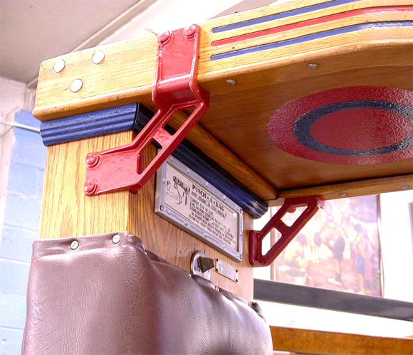 American 1910 Mutoscope Punch-A-Bag Arcade Game For Sale