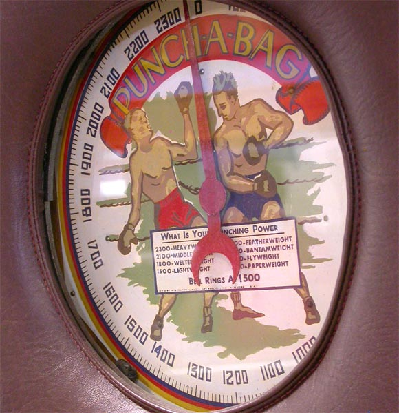 20th Century 1910 Mutoscope Punch-A-Bag Arcade Game For Sale