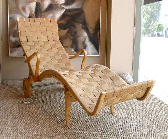 Maple bentwood chaise by bruno mathsson at 1stdibs for Chaise 7900