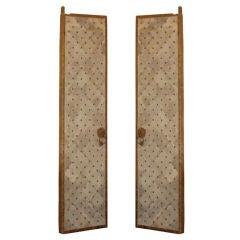 Pair Of Magnificient Grand Scale Ming Dynasty Temple Doors