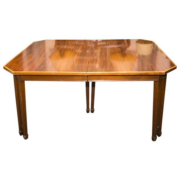 english sheraton style mahogany dining table at 1stdibs