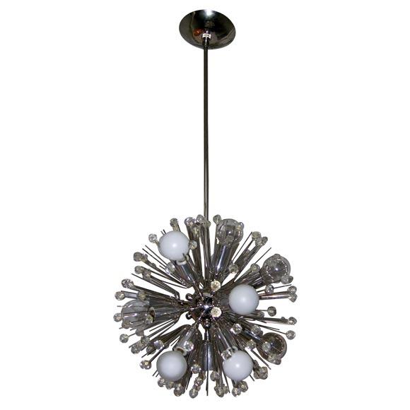 mini starburst chandelier at 1stdibs. Black Bedroom Furniture Sets. Home Design Ideas