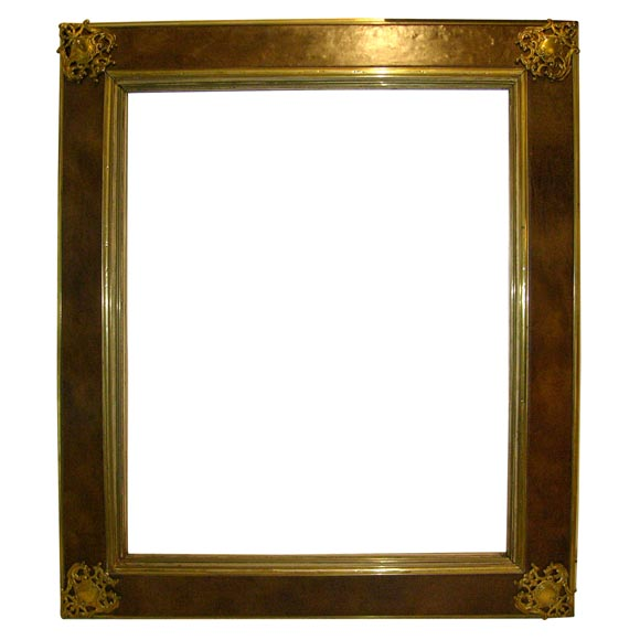 Great looking french mirror frame at 1stdibs for Cool framed mirrors