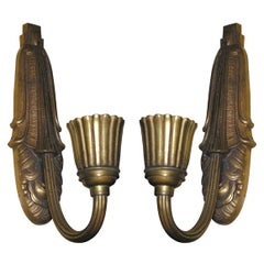 French Art Deco Wall-Sconces