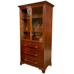 English Mahogany  Cabinet