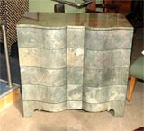 Green Parchment Commode image 7