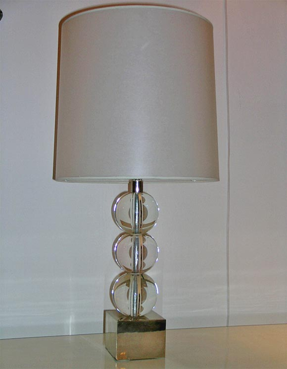 Set Of 2 Quad Stacked Crystal Table Lamps ~ Best Inspiration for ...