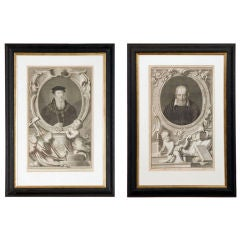 Set of Four 18th Century Prints