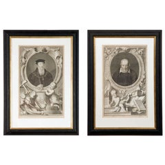 Set of Four 18th Century Prints
