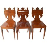 THREE  AMERICAN CLASSICAL SIDE CHAIRS