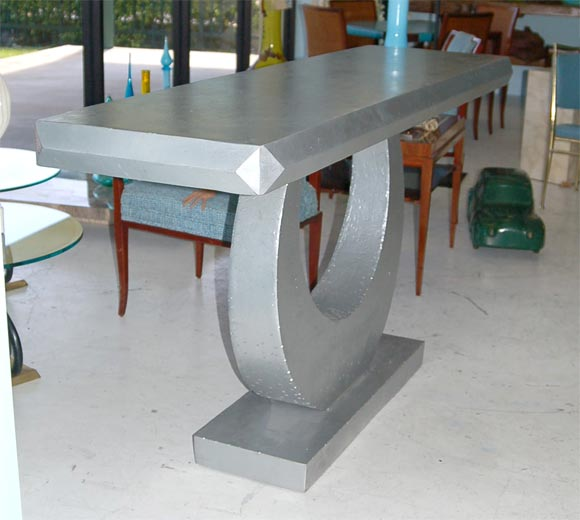 Unique steel console table for sale at 1stdibs for Unique console tables for sale
