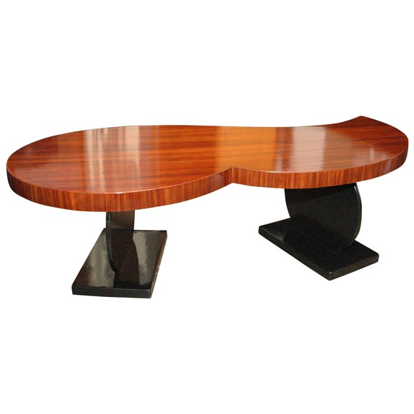 Kidney Shaped Italian Coffee Table At 1stdibs