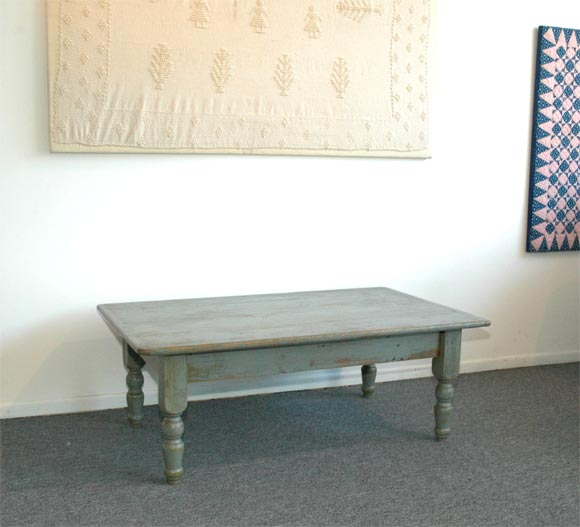 Grey Painted Coffee Table
