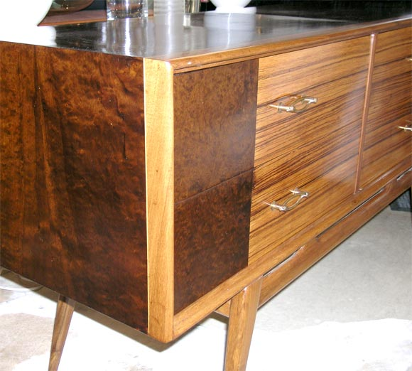Hand-Crafted Credenza or Sideboard For Sale