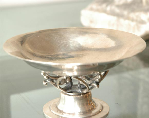 20th Century Georg Jensen Sterling Silver Bowl For Sale