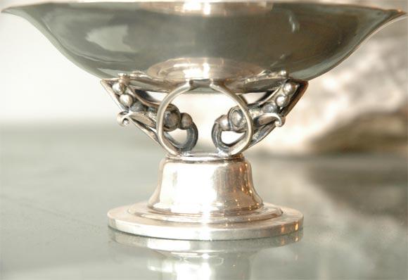 Georg Jensen Sterling Silver Bowl For Sale 1