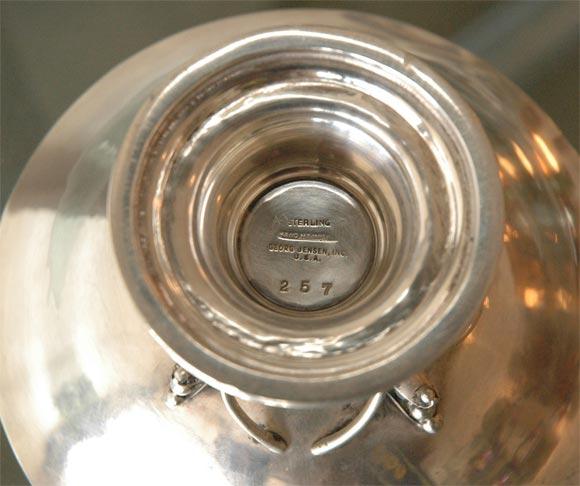 Georg Jensen Sterling Silver Bowl For Sale 3