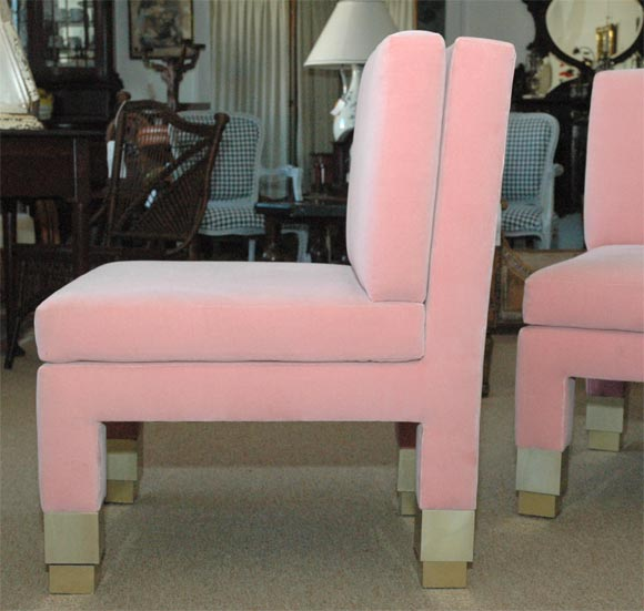 Pair of John Dickinson Side Chairs image 5