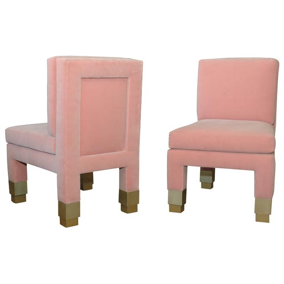 Pair of John Dickinson Side Chairs