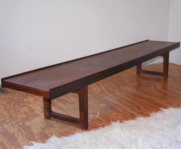 Low Bench By Brusksbo At 1stdibs