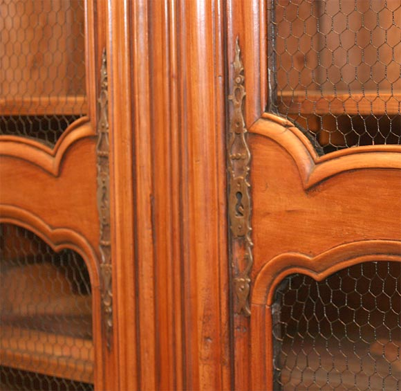 18th century walnut bibliotheque at 1stdibs for Empire antiques new orleans
