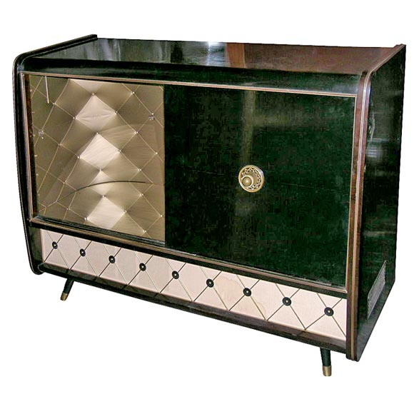 1950's Console and record player at 1stdibs