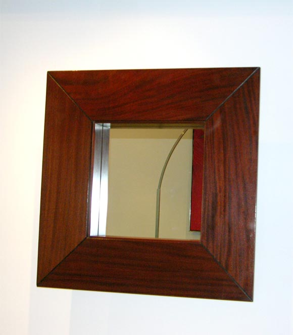 Pair of Mahogany-Framed Mirrors 6