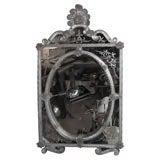 Oval-in-Square Italian Decorative Mirror