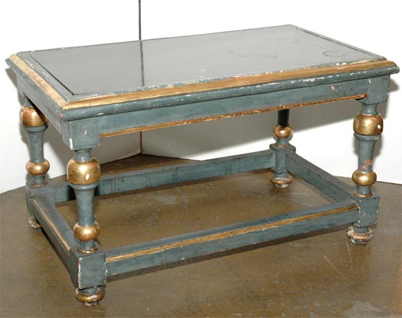 French Painted Cocktail Table For Sale 4