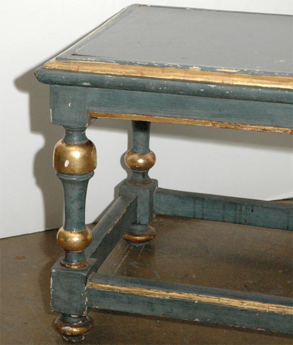 Mid-20th Century French Painted Cocktail Table For Sale