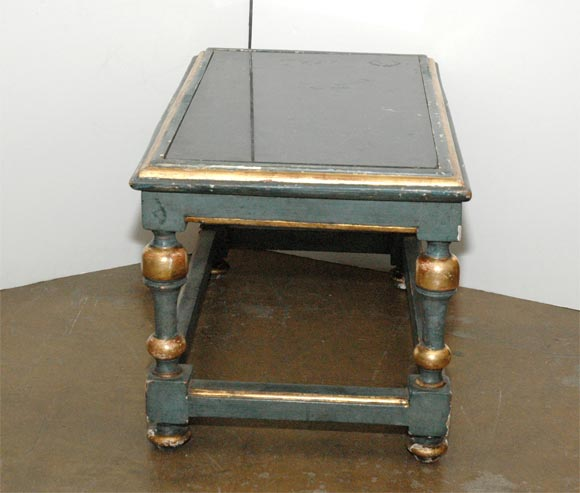 French Painted Cocktail Table For Sale 3