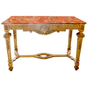 19th c. Giltwood Center Table
