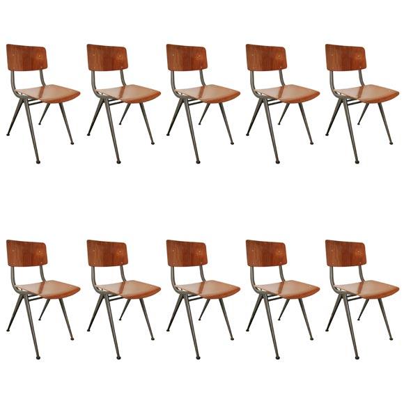 Frisco kramer chairs at 1stdibs - Kamer dining ...