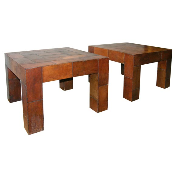 Antique leather Parsons tables at 1stdibs : x from 1stdibs.com size 580 x 580 jpeg 21kB