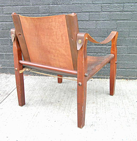 Safari Chair in the manner of Kaare Klint 1