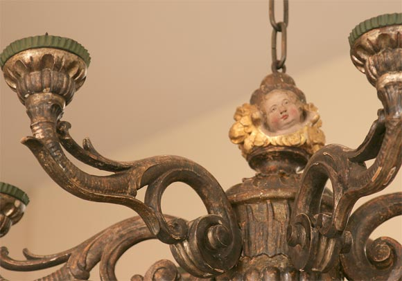18th c venetian chandelier at 1stdibs for Empire antiques new orleans