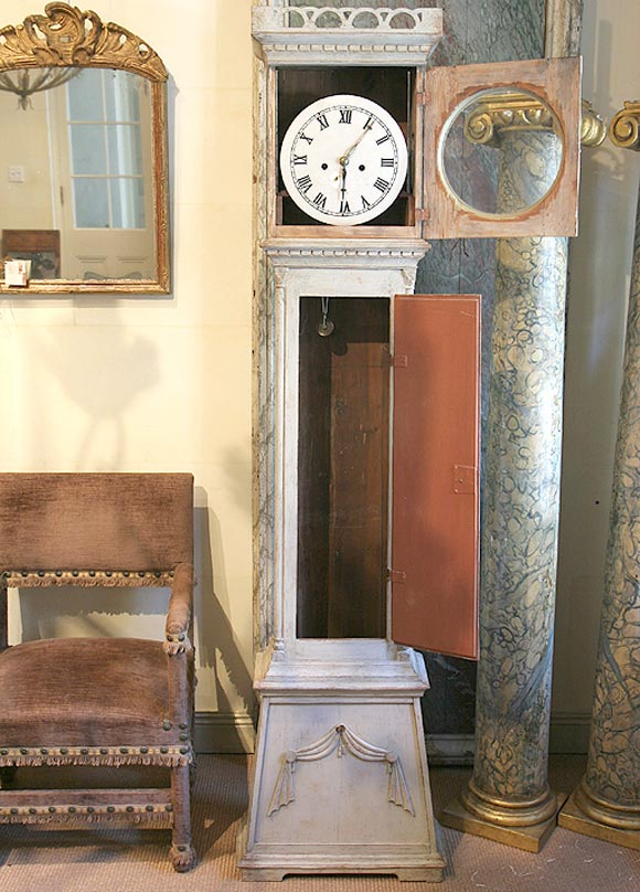 Early 19th Century Danish Tall Case Clock 2