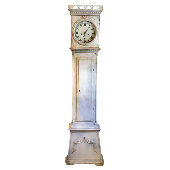Early 19th Century Danish Tall Case Clock 1