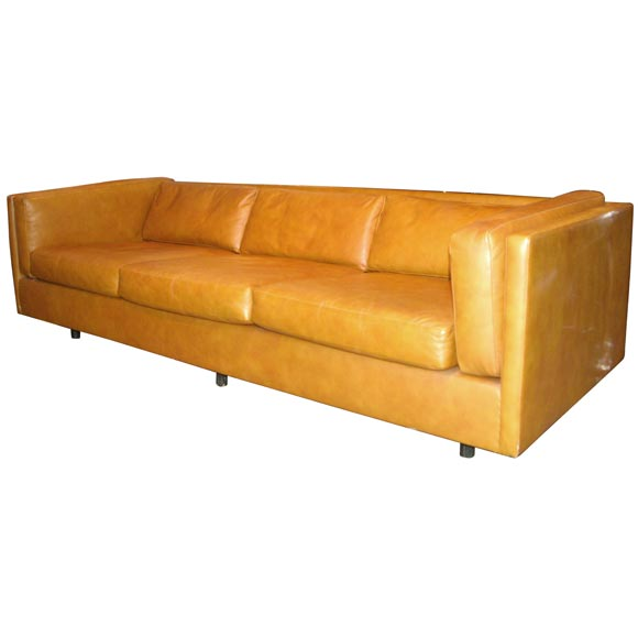 Clean-Line Sofa Designed By Harvey Probber At 1stdibs