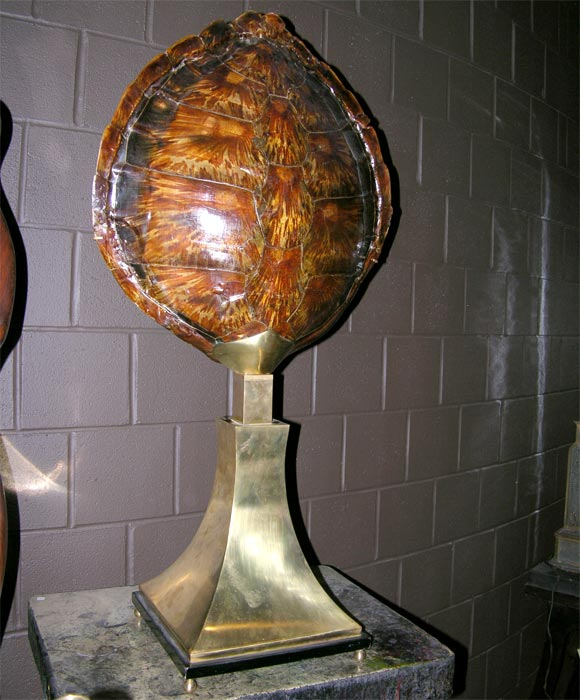 Mid-20th Century Tortoise Shell Centerpiece For Sale