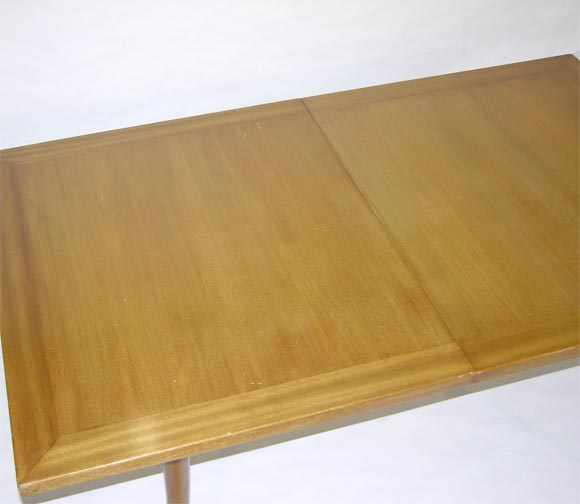 Sabre Leg Dining Table By Harvey Probber At 1stdibs