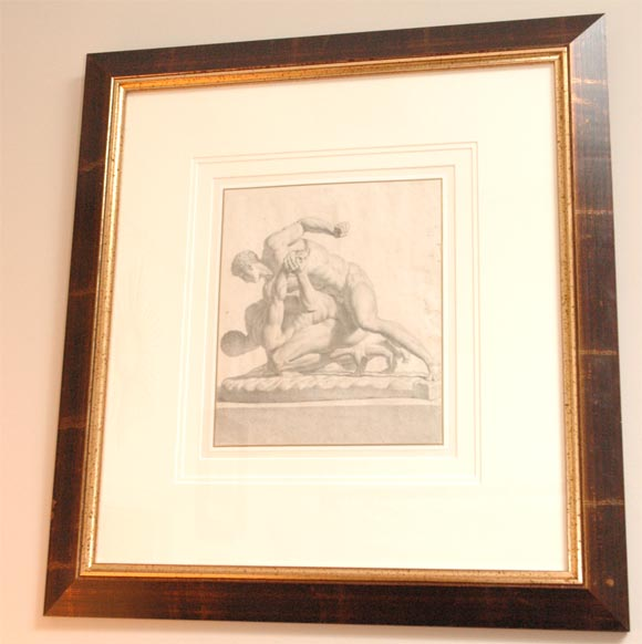 An Italian Charcoal Drawing, Circa 1755 For Sale At 1Stdibs-4999