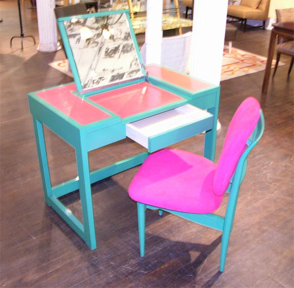 Writing Table & Chair by Paul Laszlo image 3
