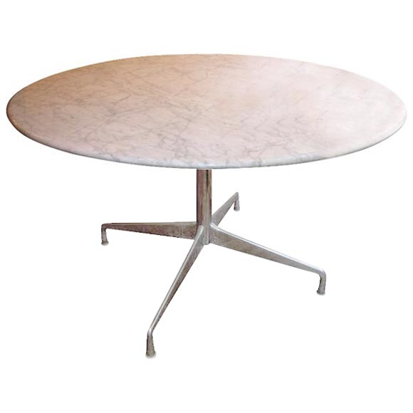 Eames Marble Coffee Table: Eames Marble Top Table At 1stdibs