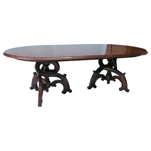 Magnificent Custom Dining Table To Seat Up To 14 At 1stdibs