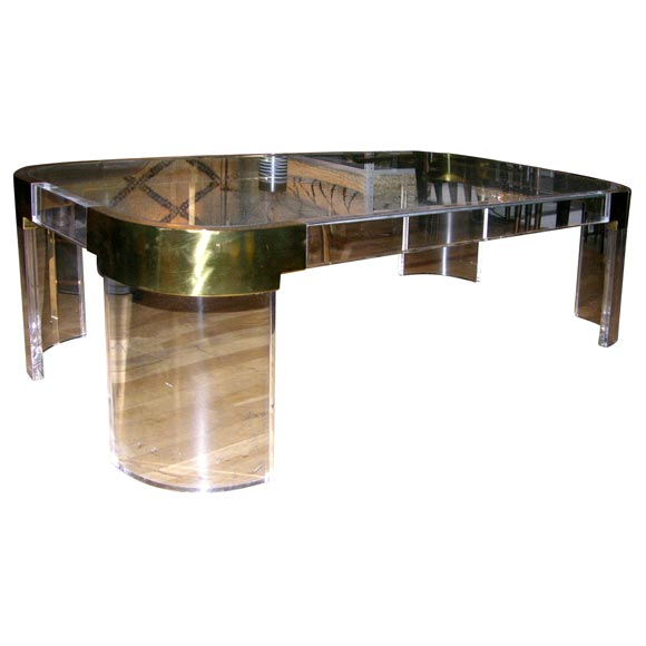 Waterfall coffee table by charles hollis jones at stdibs