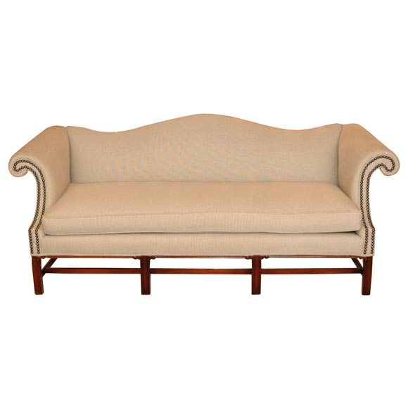 Kittinger Camel Back Sofa At 1stdibs