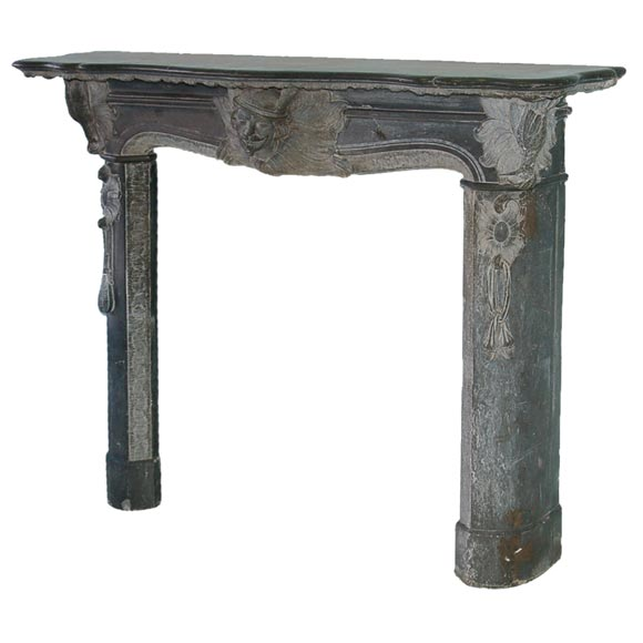 Austrian Slate Fireplace Mantel At 1stdibs