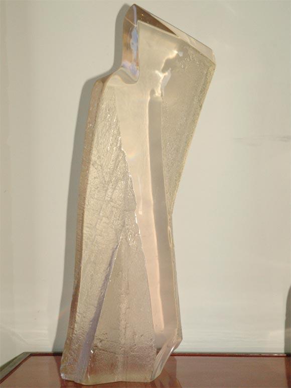 Mid-Century Modern Midcentury Acrylic Sculptures For Sale